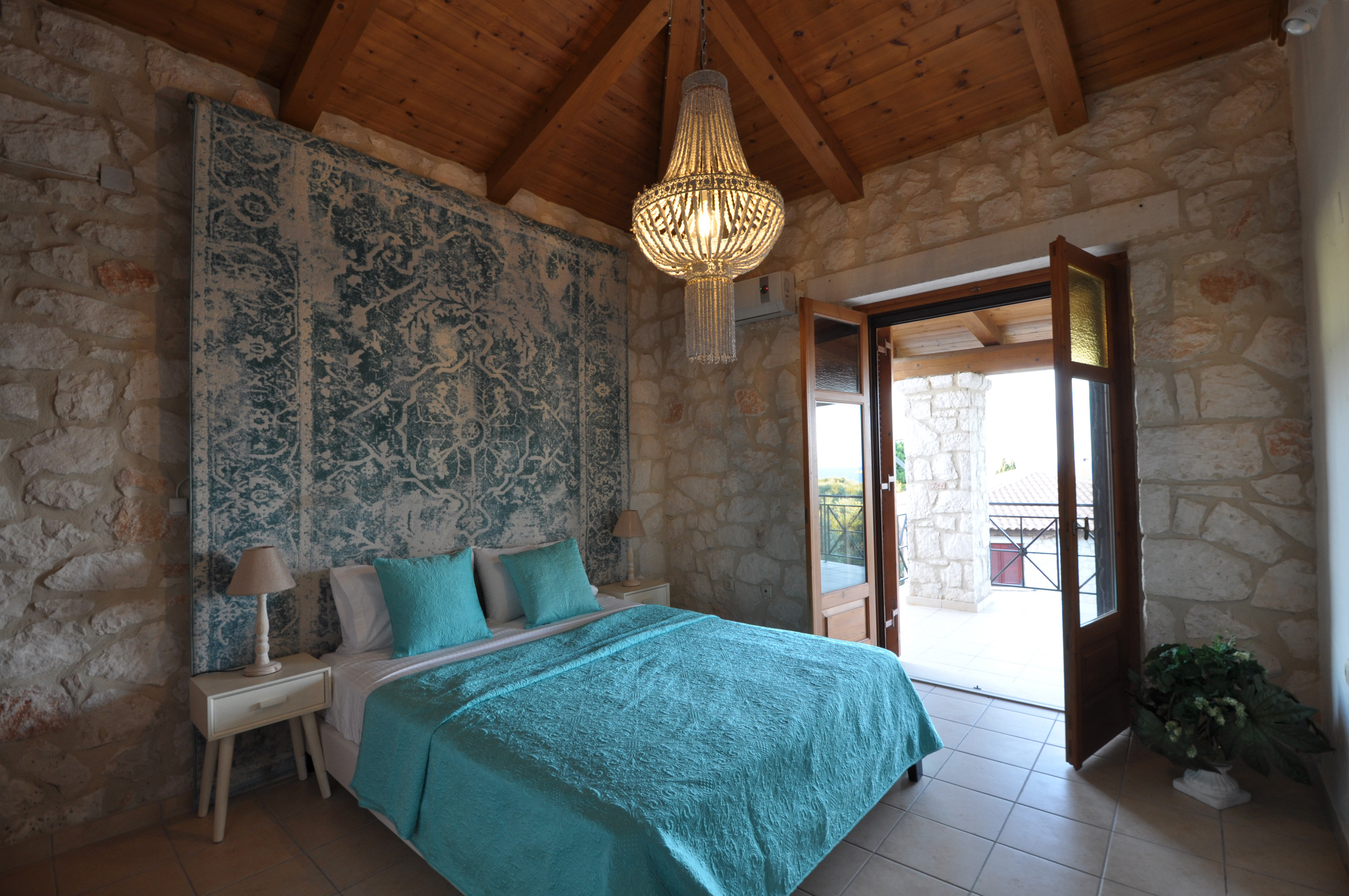Villa Alexa of Jootiq Villas in Zakynthos(Zante) bedroom