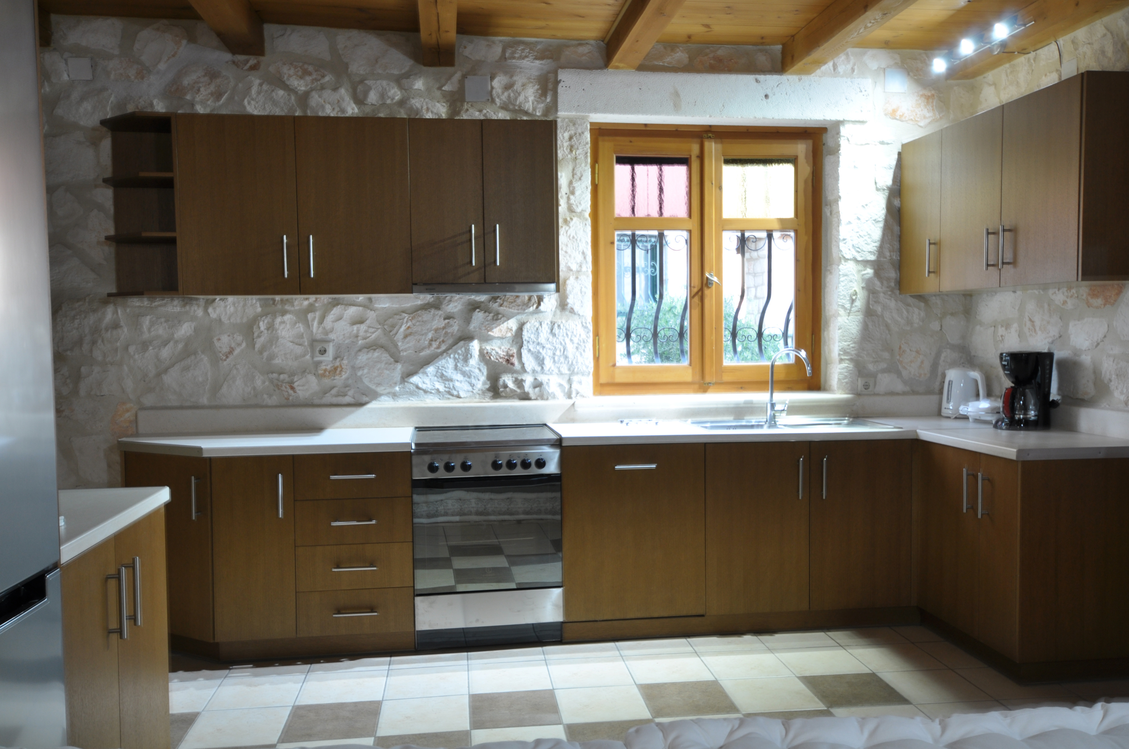 Villa Alexa of Jootiq Villas in Zakynthos(Zante) kitchen