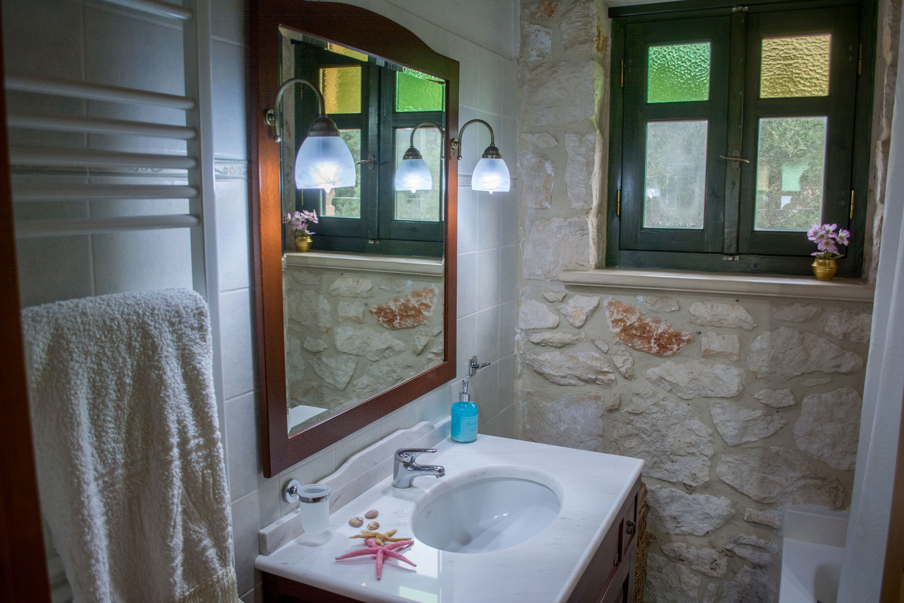 Villa Marina of Jootiq Villas in Zakynthos(Zante) bathroom